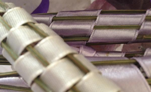 Lavendelstäbe-closeup