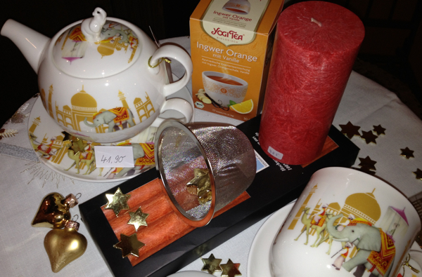 Geschenk Tee Mahal